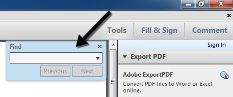 find adobe reader