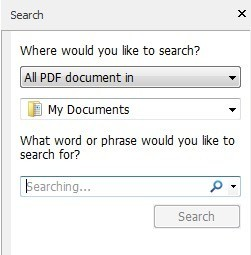 search all pdf files